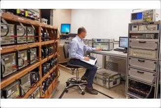 Calibration 표준 실험실의 Fluke 8588A 레퍼런스 멀티미터