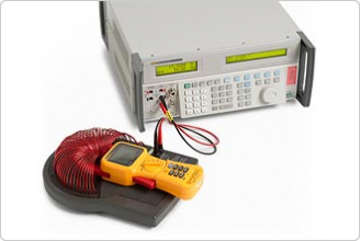 5502A 멀티제품 교정기, 클램프와 코일
