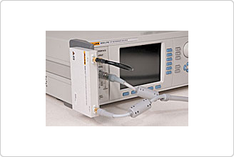 9600FLT 1 GHz 광오프셋 위상잡음(노이즈)테스트