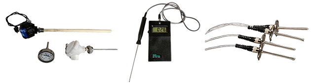 Temperature Sensor Type and Size Examples